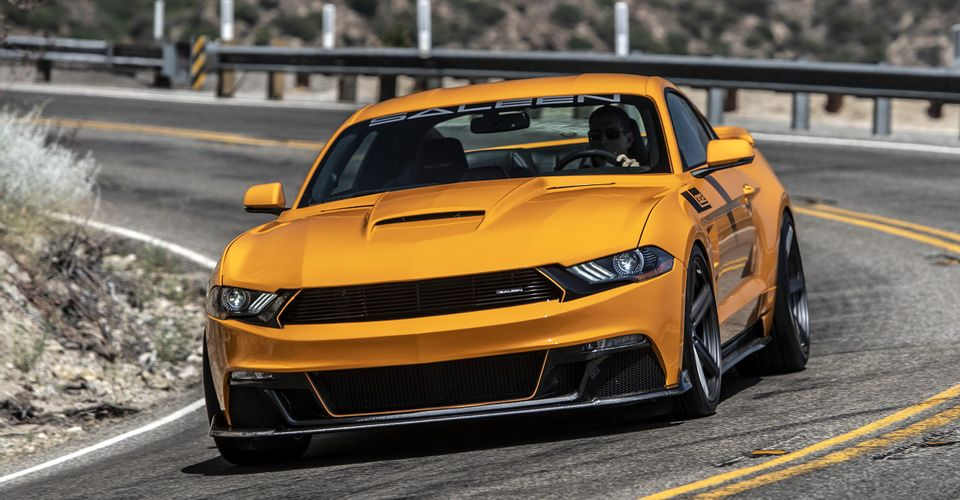 Saleen Mustangs Show Car