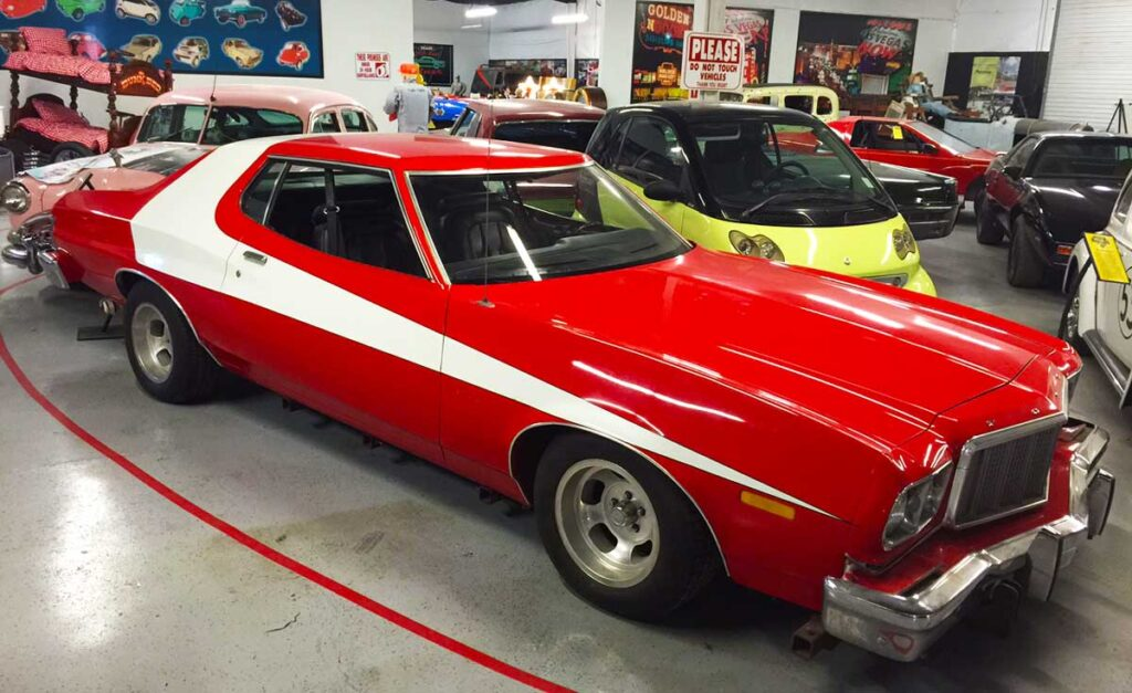 Starsky and Hutch Red Ford Gran Torino