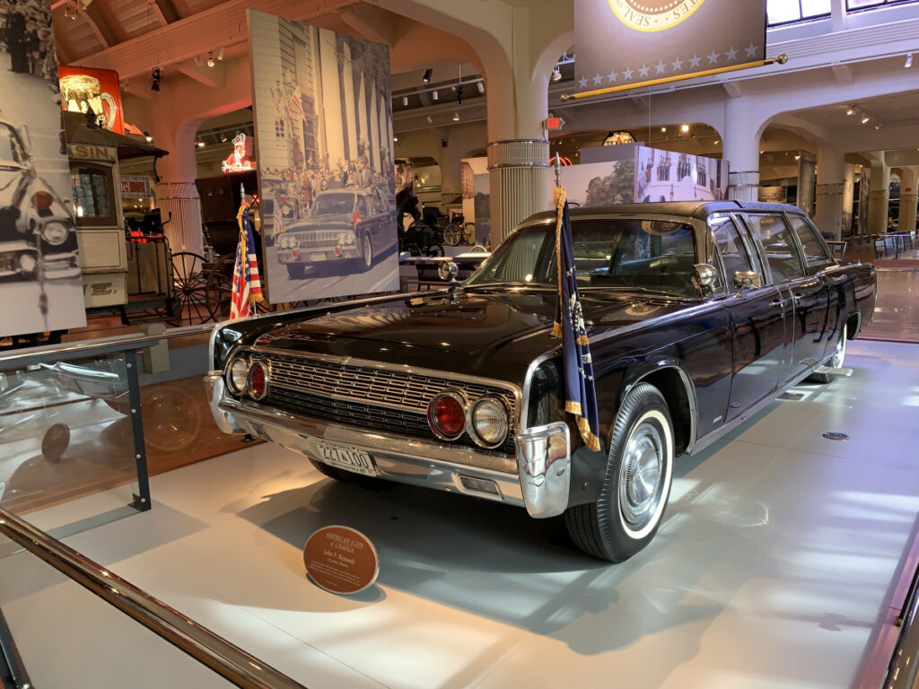 President Kennedy's Lincoln