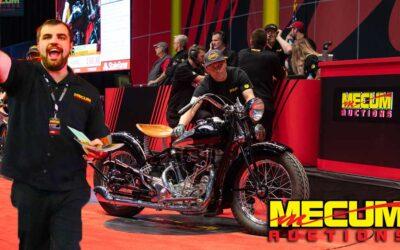 Mecum's  30th Annual Vintage & Antique Motorcycle Auction in Las Vegas Starts April 28, 2021