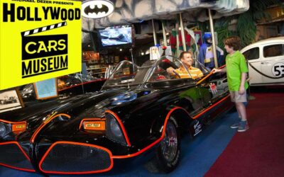 The Hollywood Car Museum Features Cars From Top Movies and TV Shows