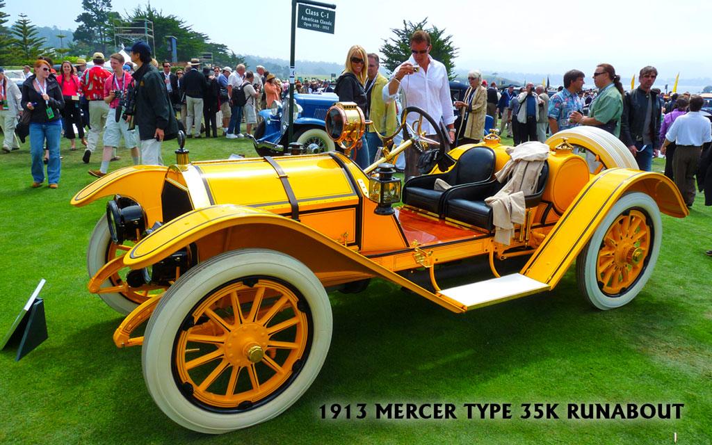 1913 Mercer Type 35K Runabout