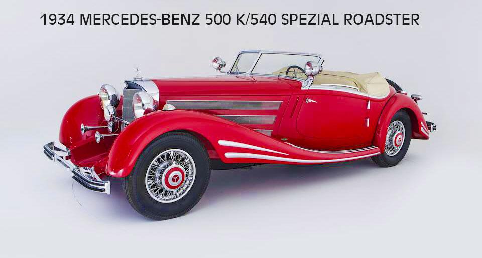 1934 MERCEDES-BENZ
