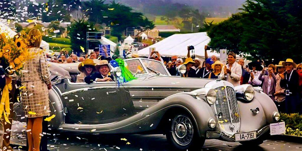 1937 Horch 853 automobile