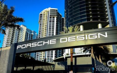Drive Into Your Livingroom At Miami's Luxury 60-Story Porsche Design Tower