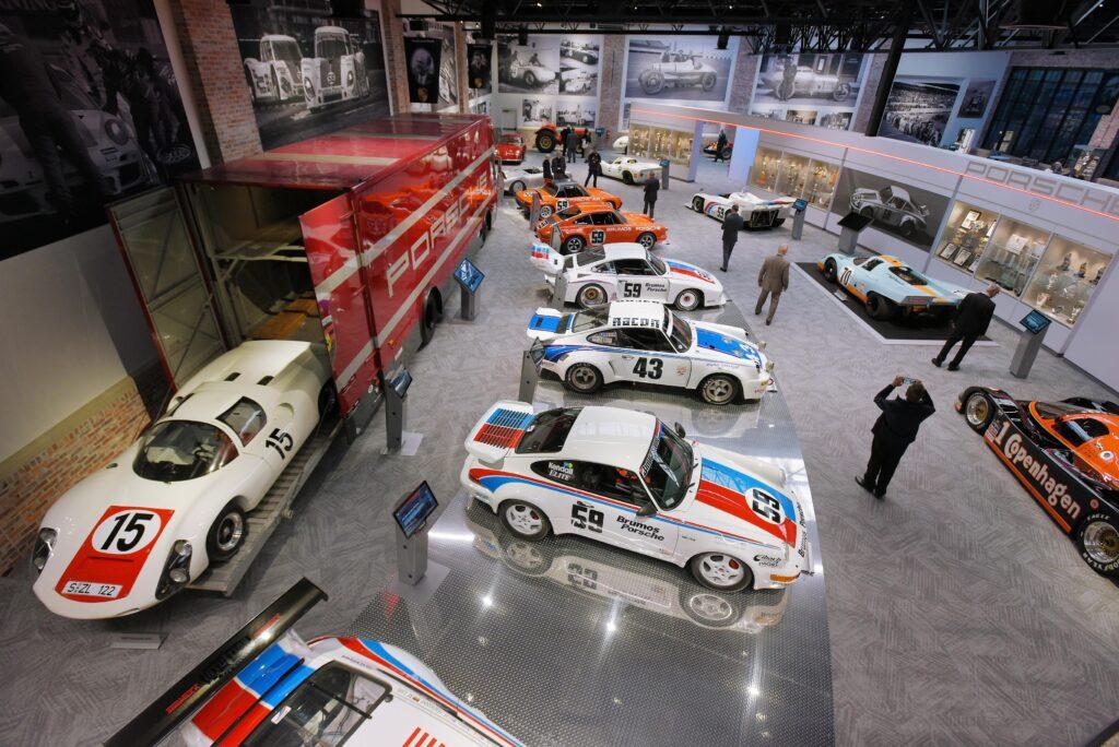 Inside the Brumos Museum
