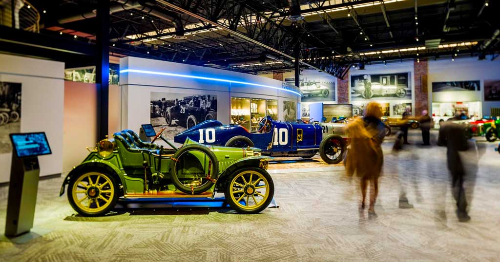 Jacksonville's Brumos Race Car Collection Takes You On An Historical Drive Through Automotive History