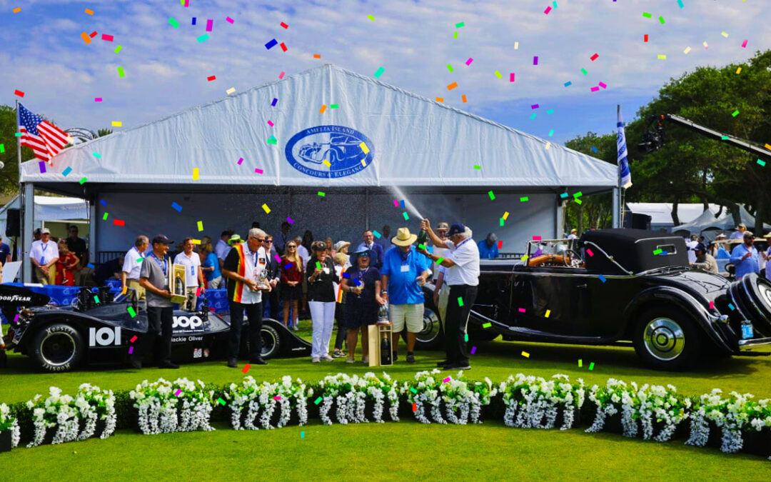 The 26th Annual Amelia Island Concours d'Elegance Celebrates With Best In Show Awards At The 2021 Finale