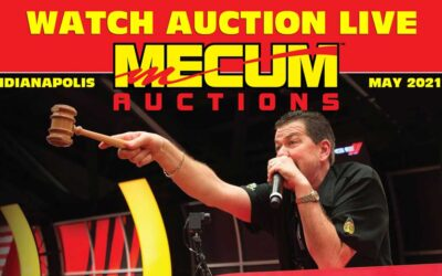 Watch Mecum Auction Live Streaming from Indianapolis Indiana (INDY May 2021)