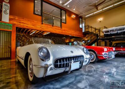 Irongate Car Garage Interior
