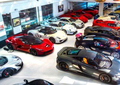 Custom Designed Car Storage Warehouse