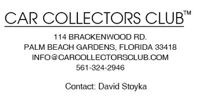 Car Collectors Club   Contact Information
