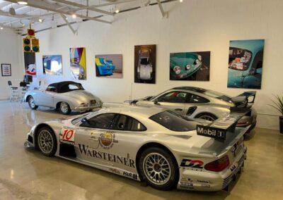 Performance Themed Car Garage