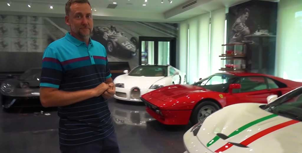Golfer Ian Poulter's Car Collection Worth Over $24 Million Showcases Over 14 Ferraris