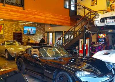 Iron Gate Car Condominium Garage Interior