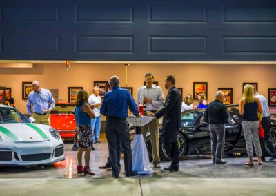 Garage and Social Event