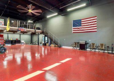 Island Storage Suites with Custom Basketball Court