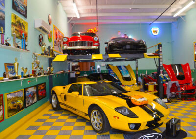 Island Storage Suites Customized Car Garage