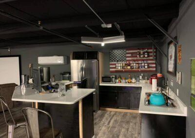 Island Storage Suites Custom Kitchen Area