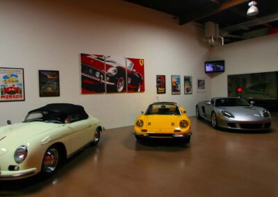 Private Car Condo Turned Into Luxury Car Showroom and Gallery