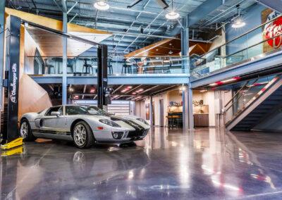 M1 Concourse Custom Garage and Entertainment Area