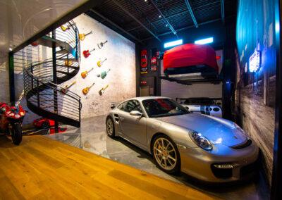 Converted Garage into Musician Studio