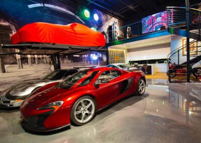 The Hanger Car Club in Palm Beach Florida Interior