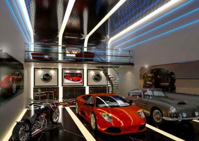 Car Garage in AutoMotorPlex In Medina MN