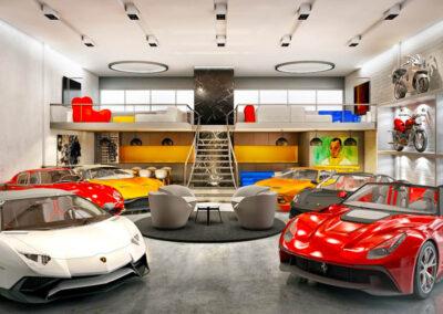 Inside the Trove Luxury Car Condo Club