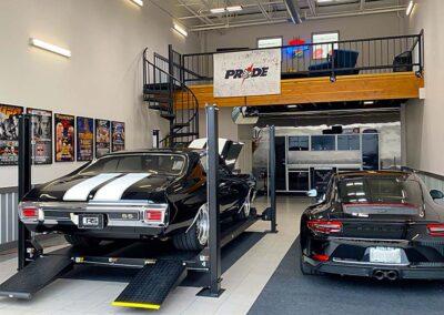 The Ultimate Custom Designed Garage