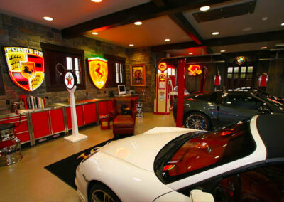Luxury Garage Car Themed Interio