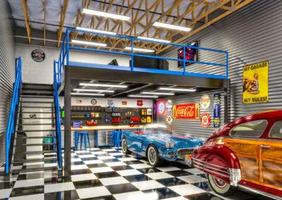 Red Hawk Garage Suites Garage Inside