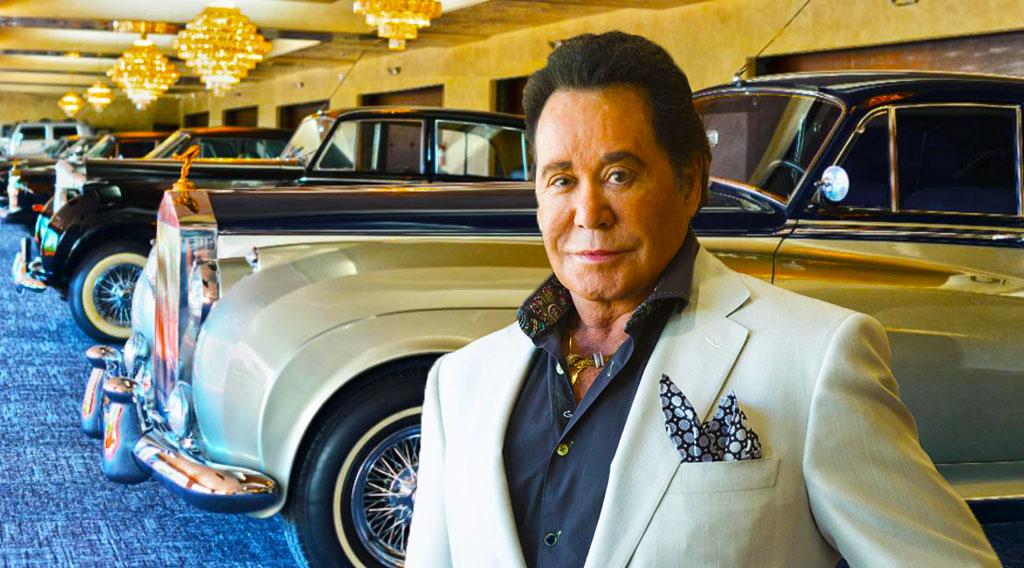 Wayne Newton's Car Collection On Display At Casa de Shenandoah in Las Vegas, NV