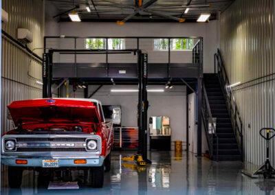 Wheelhouse Car Condo and Garage Interior Design Idea