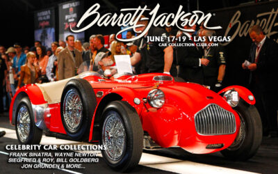 Live From Las Vegas Barrett-Jackson Will Auction 7 Celebrity Car Collections And Over 600 Vehicles On June 17-19, 2021