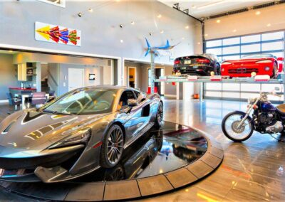 The Ultimate Display of Exotics Toys