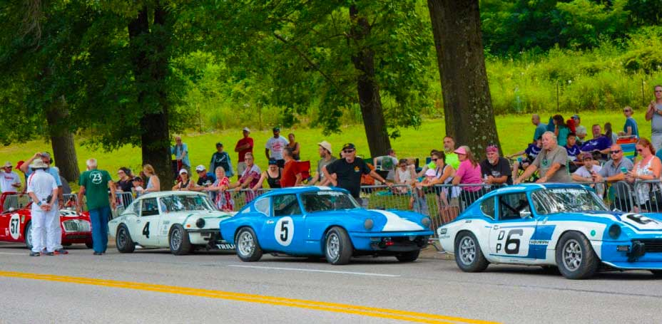 Pittsburg Grand Prix and Car Show at Schenley Park
