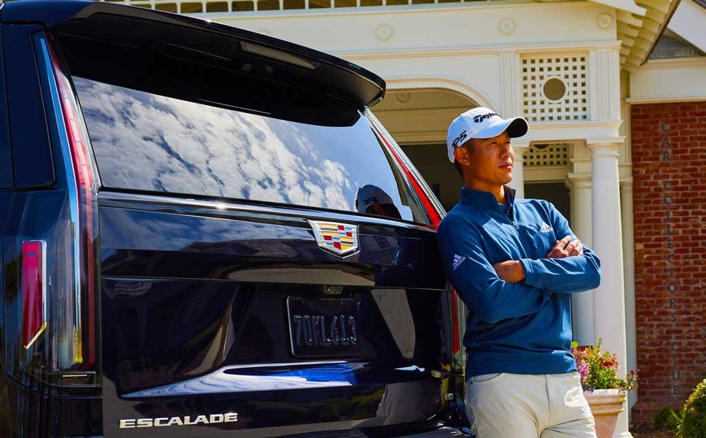 PGA Champion Collin Morikawa Car Collection Now Includes a Cadillac Escalade