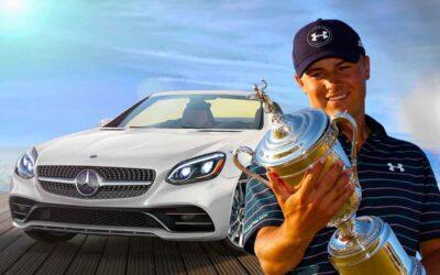 Pro Golfer Jordan Spieth's Car Collection and 12 Car Garage