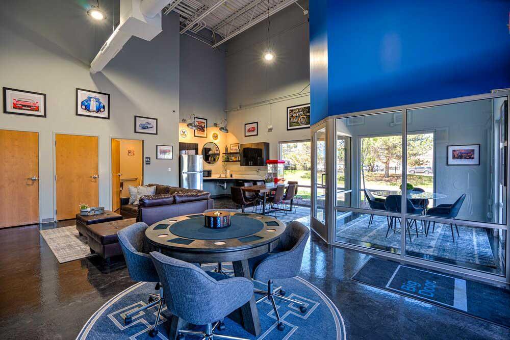 Big Door Garage Community Suites Club House