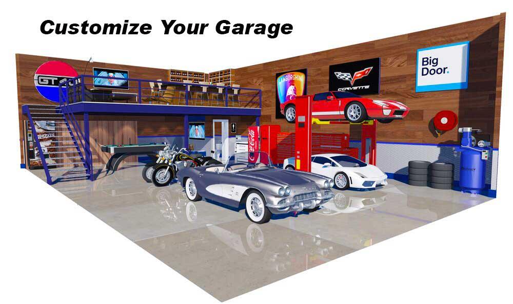 Car Condo Garage Suite
