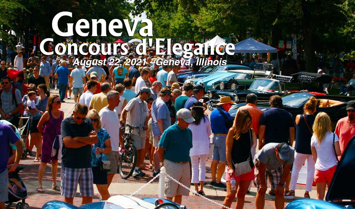 Geneva Comcours dElegance Car Show