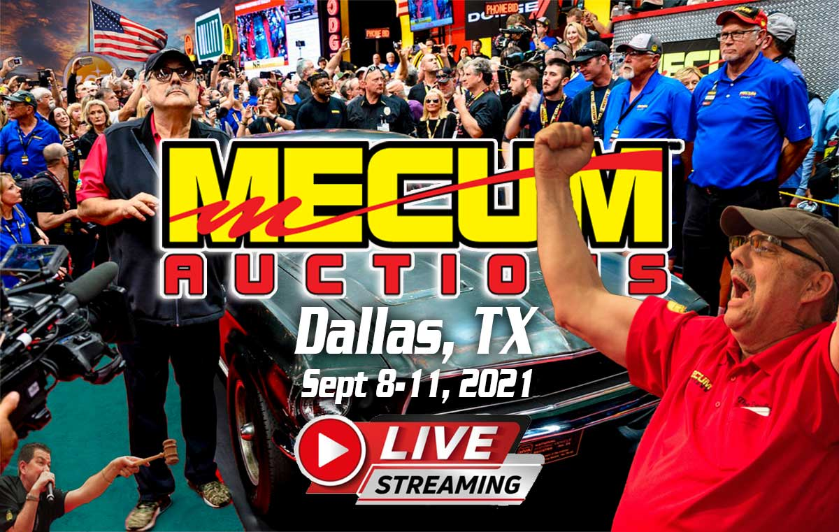 Mecum Auction Dallas Texas September 2021