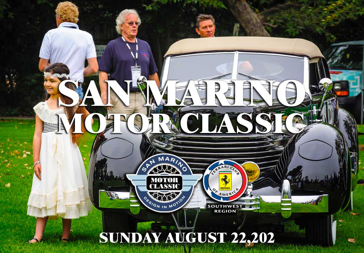 San Marino Moto Classic Car Show