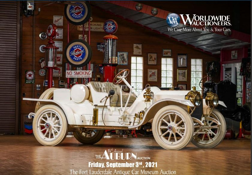 The Fort Lauderdale Antique Car Collection From The Museum Will Be Auctioned On September 4th