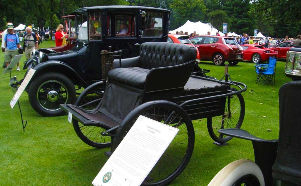 Antique Cars at Car Show