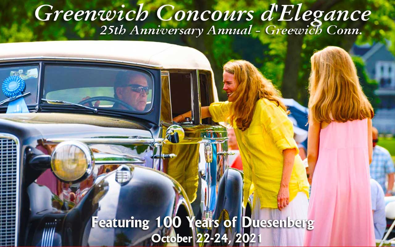 Greenwich Concours dElegance Car Show