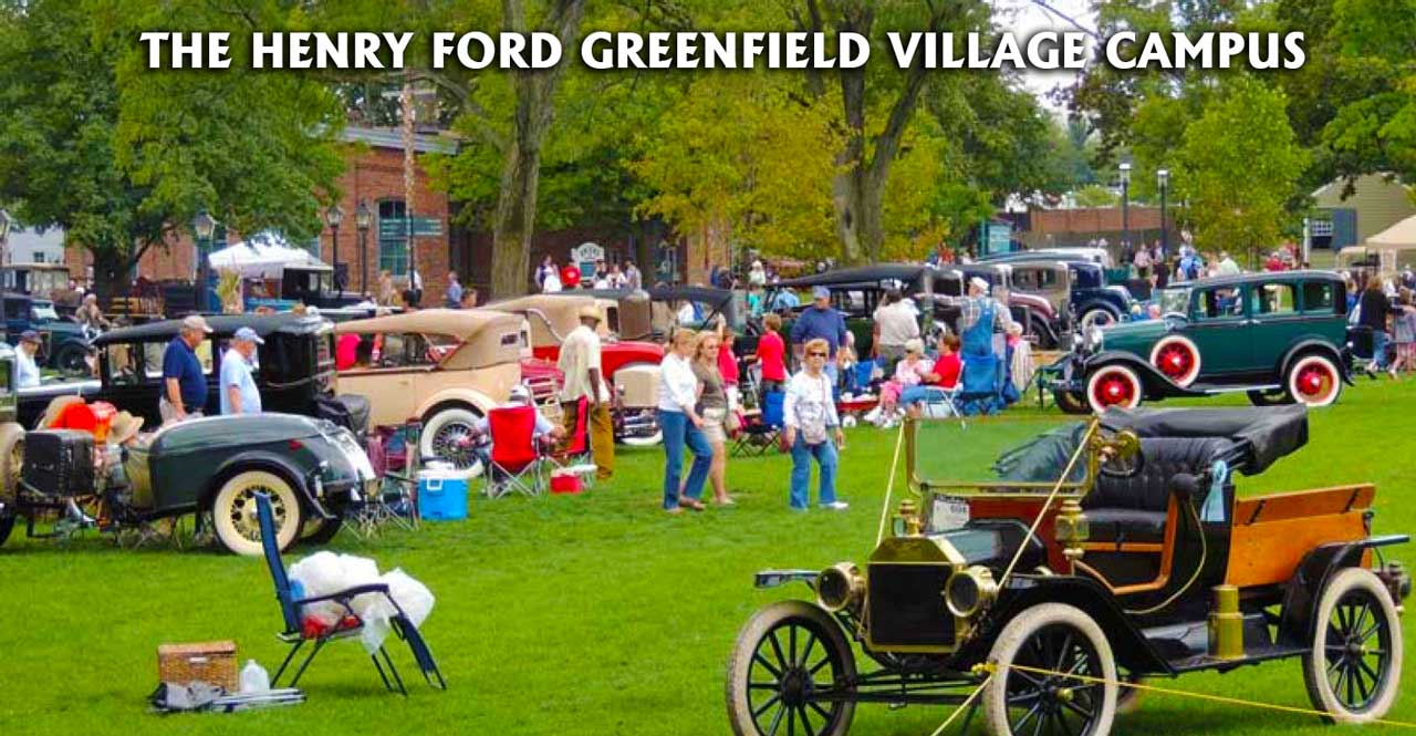 he Henry Ford Greenfield Village Car Show