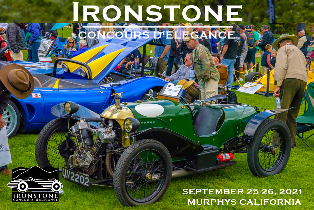 Ironstone Concours delegance Car Show