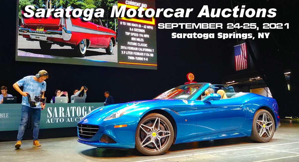 Saratoga Motorcar Auction In In Saratoga NY